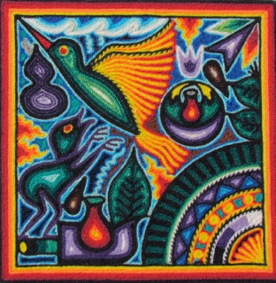Tepehuano Yarn Painting